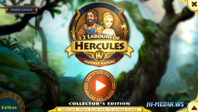 12 Labours of Hercules 4: Mother Nature Collectors Edition