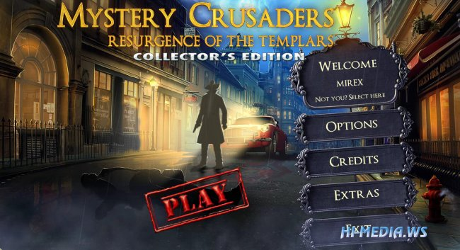 Mystery Crusaders: Resurgence of the Templars Collectors Edition