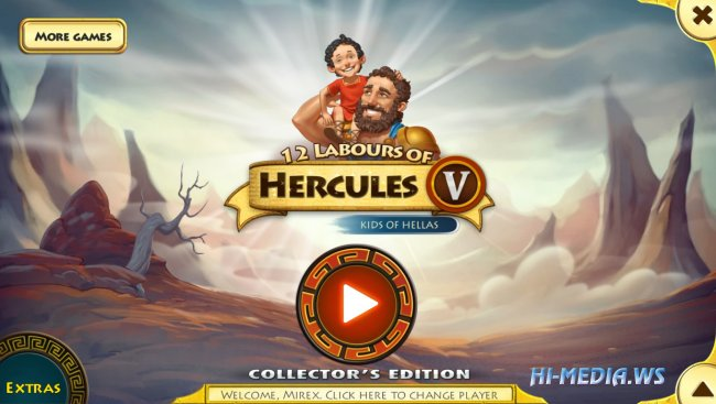 12 Labours of Hercules V: Kids of Hellas Collectors Edition