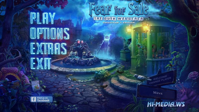 Fear For Sale 9: The Dusk Wanderer Collectors Edition