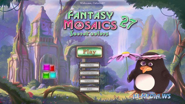 Fantasy Mosaics 27: Secret Colors (2018)