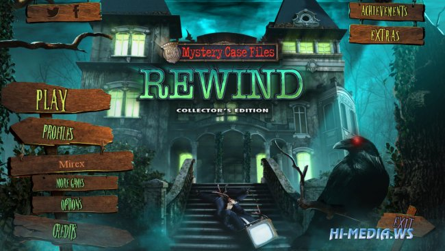 Mystery Case Files 17: Rewind Collectors Edition