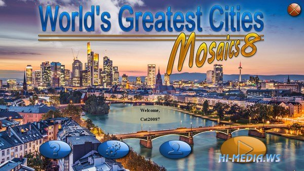 World's Greatest Cities Mosaics 8 (2018)