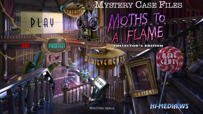 Mystery Case Files 19: Moths to a Flame Collectors Edition