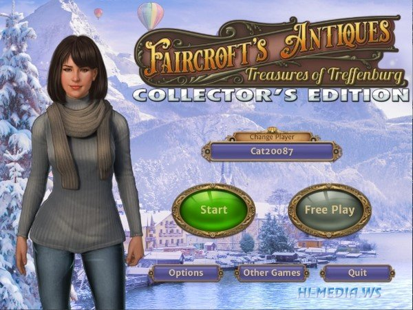 Faircroft's Antiques: Treasures of Treffenburg Collectors Edition (2020)