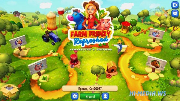 Farm Frenzy: Refreshed Collector's Edition (2020)