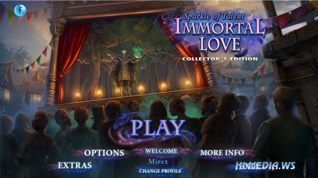 Immortal Love 8: Sparkle of Talent Collectors Edition